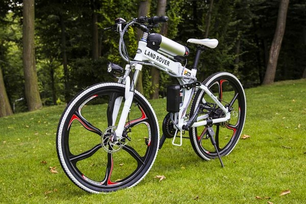 Электровелосипед LAND ROVER ELECTROBIKE RD (белый)